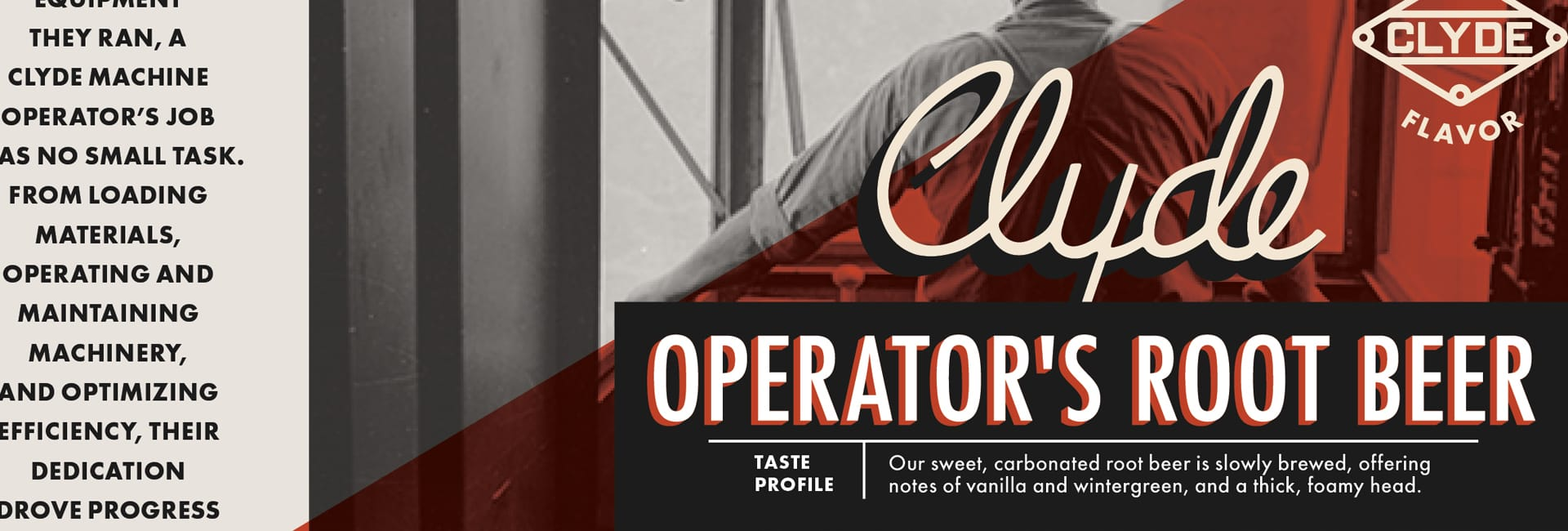 Clyde Iron Works Operator's Root Beer