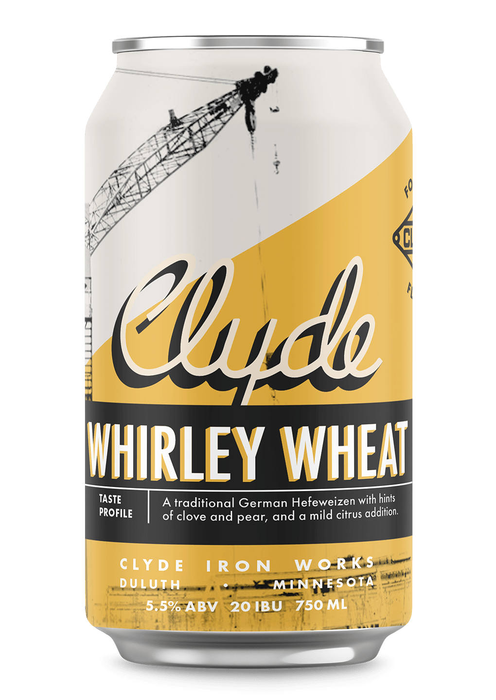 Clyde Iron Works Whirley Wheat