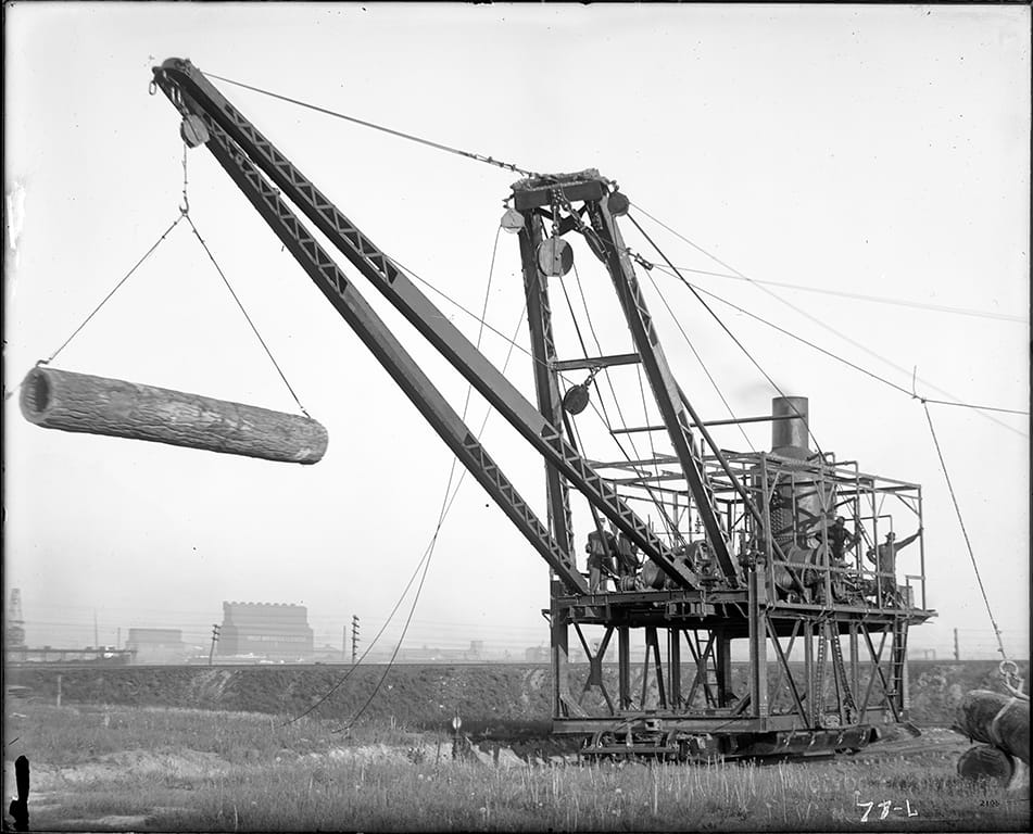 Clyde Iron Works historical photo