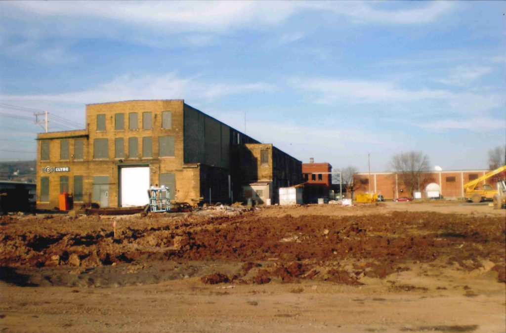 Clyde Iron Works redevelopment photo